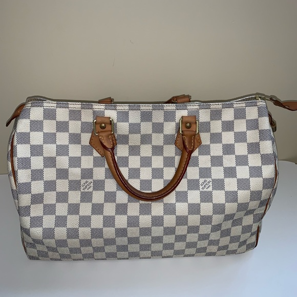 Louis Vuitton Handbags - ❇️sold ❇️Louis Vuitton Azur speedy 35